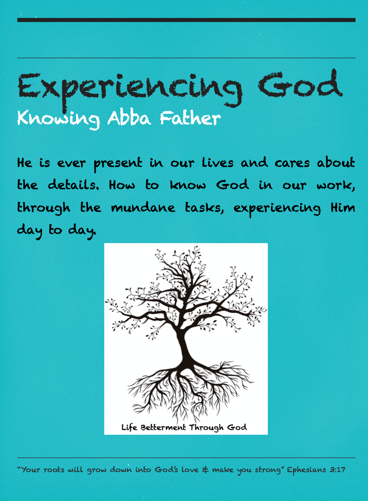 Experiencing God Pocket Guide