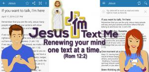 Jesus Text Me